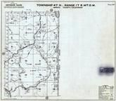 Page 127 - Township 47 N., Range 17 E., Cow Head Lake, Eight Mile Creek, Modoc County 1958